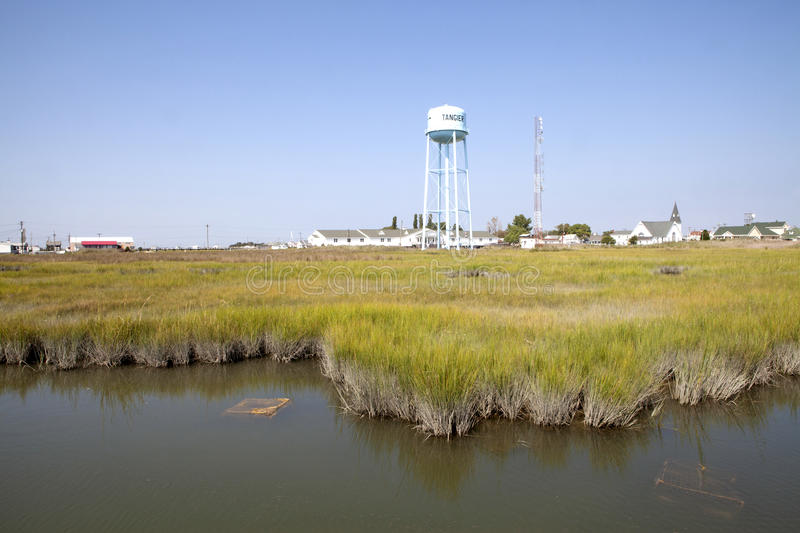 A view of Chesapeake. Part of Chesapeake in the USA stock images