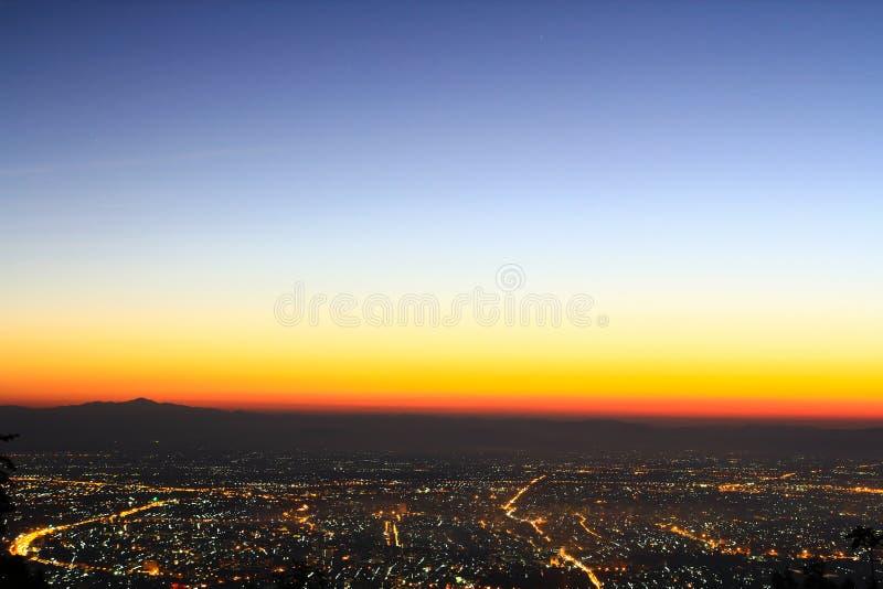 Download View of Chiangmai city stock photo. Image of modern, metropolitan - 35655004