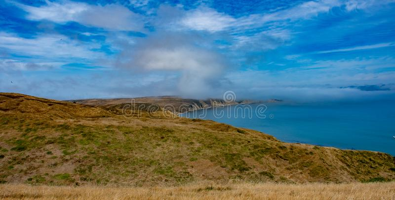 View from Chimney Rock Trail royalty free stock photo