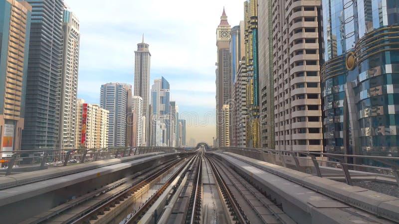 View of city - DUBAI stock images