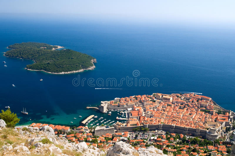 Download View On The City Of Dubrovnik In Croatia Stock Photo - Image: 28935344