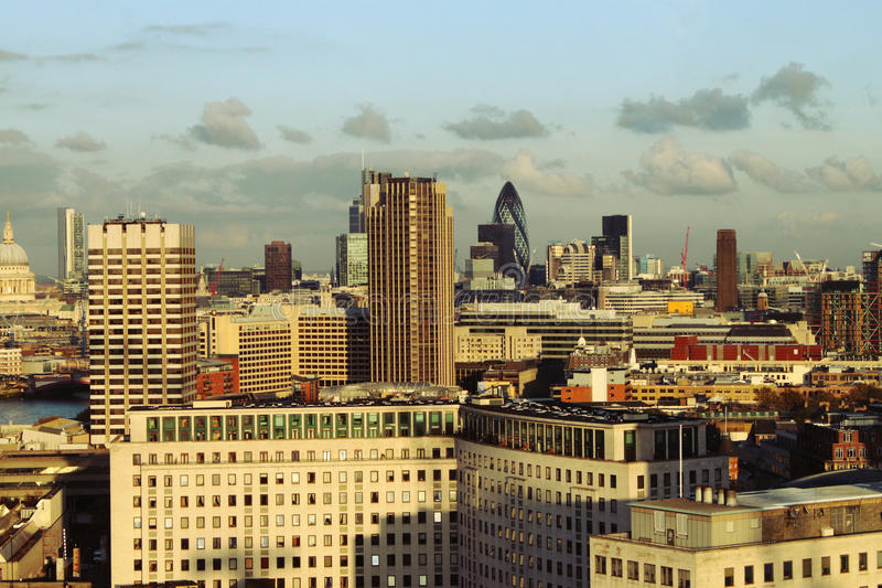 View Of City London Royalty Free Stock Photo
