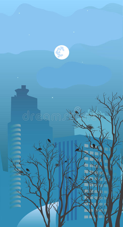 Download View Of The City At Night Stock Photography - Image: 18855422