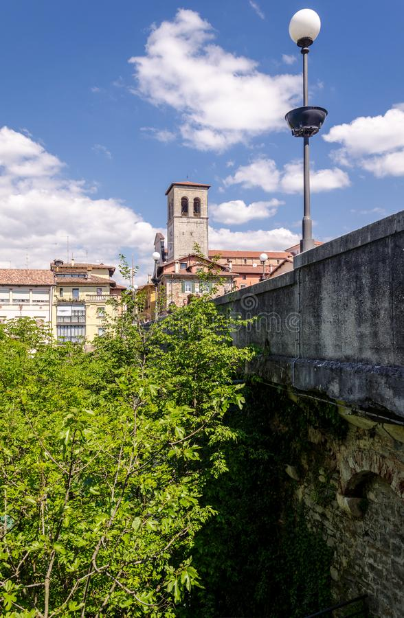 View of cividale del friuli stock images