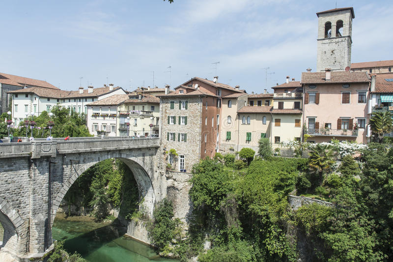 A view of Cividale del Friuli royalty free stock image