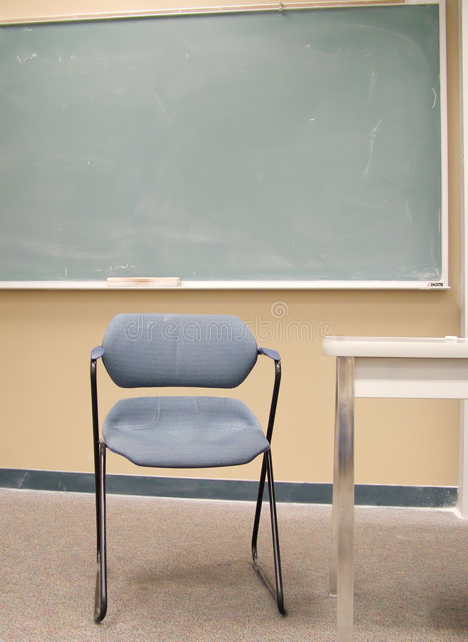 View of a Classroom royalty free stock photography