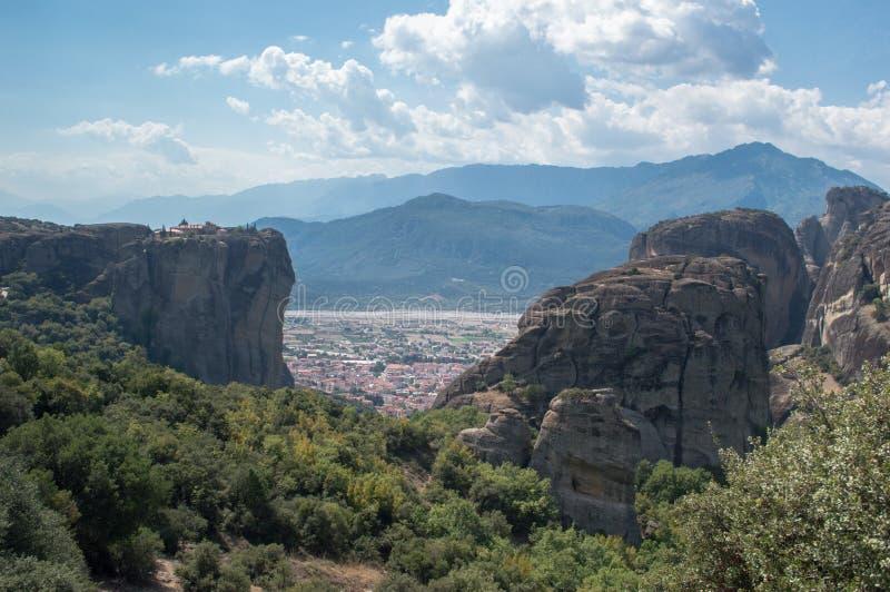 Meteora in Greece stock image