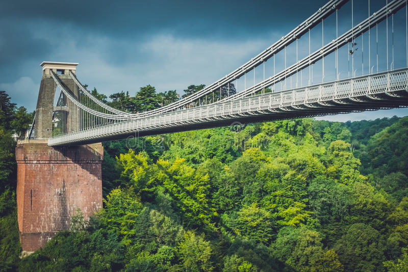 View of Clifton Bridge royalty free stock images