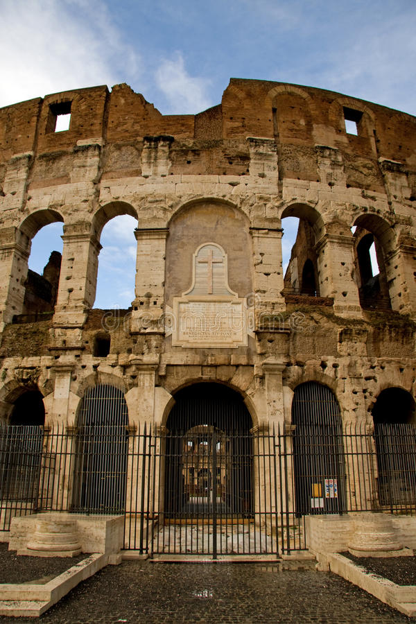Download View Of The Coloseum In Rome Stock Image - Image: 12693469