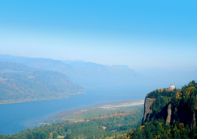 Download View of the Columbia River stock image. Image of nature - 3403513