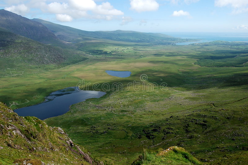 Download View From Connor Pass Ireland Stock Photo - Image: 5241006