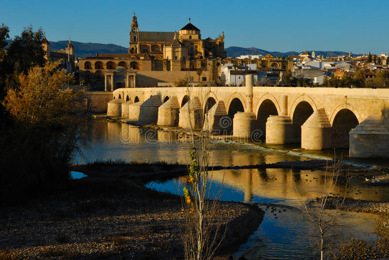 Download View of Cordoba mosque stock image. Image of spain, river - 23209021