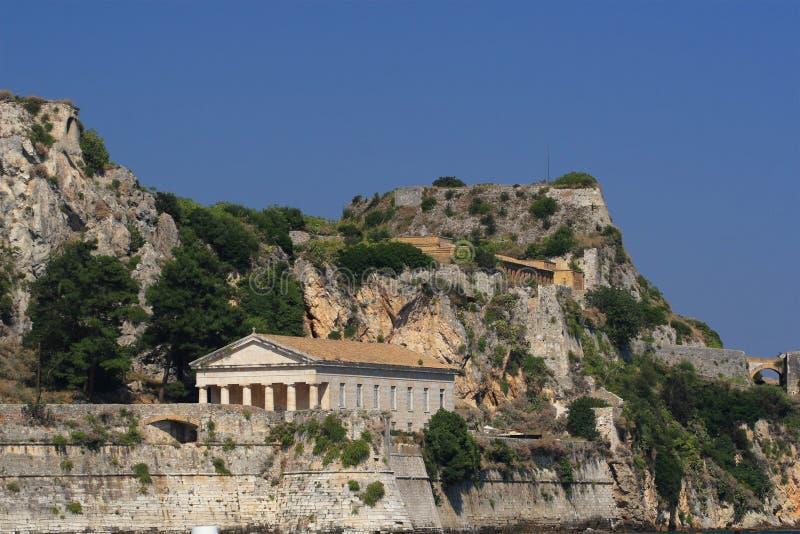 View on Corfu Greece royalty free stock image