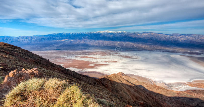 Download View From Dante's Peak, Death Valley Stock Image - Image: 22953581