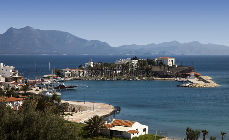View Of Datca Harbor, Turkey Royalty Free Stock Image