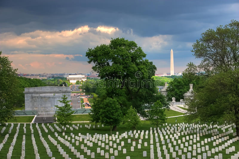 View of DC royalty free stock photos
