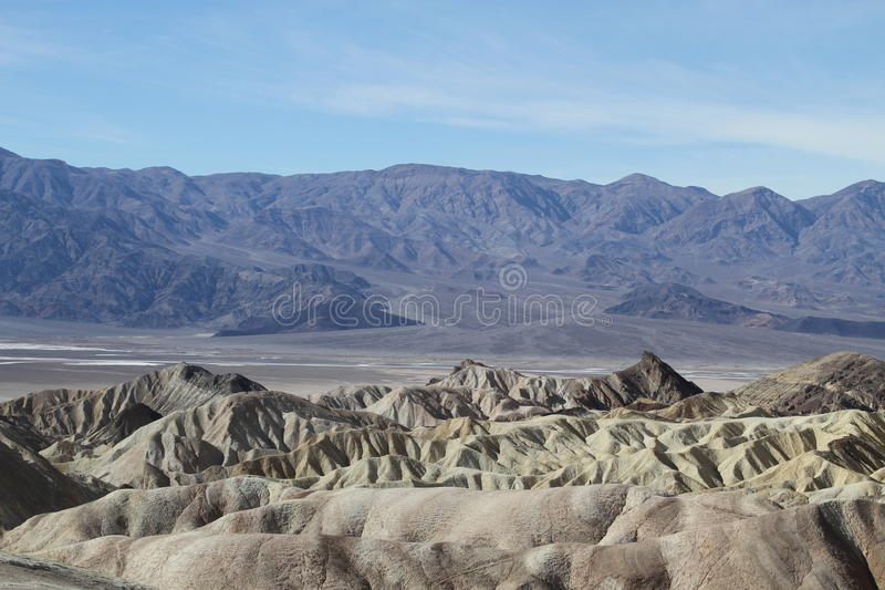 USA, California: View Into Death Valley Royalty Free Stock Images