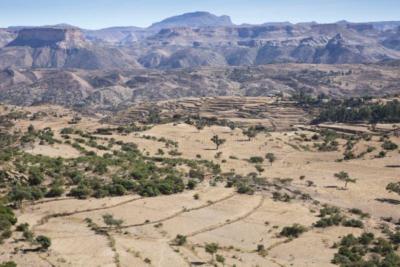 View from Debre Damo stock photos