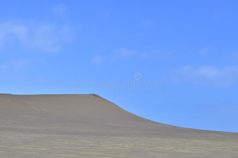View of a desert in south america stock photo