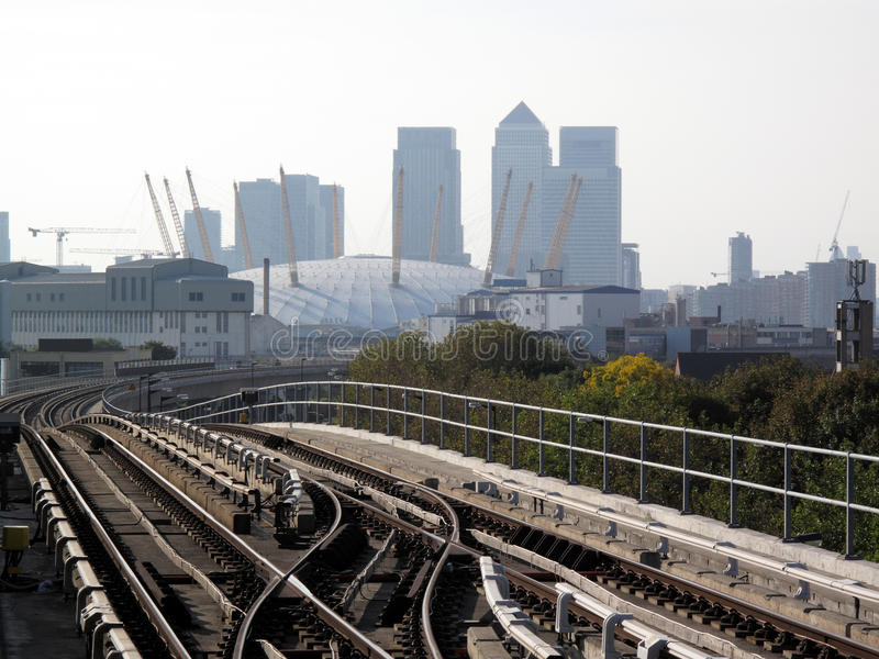 Download View From A Docklands Light Railway Station Stock Photo - Image: 11553042