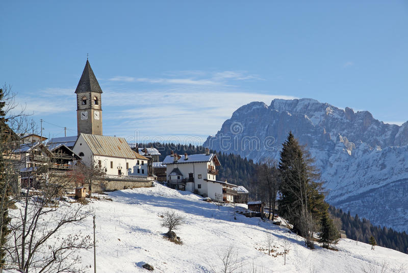 Download View of  Dolomiti stock image. Image of stone, italian - 12370099