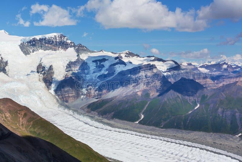 View from Donoho peak. Alaska royalty free stock image