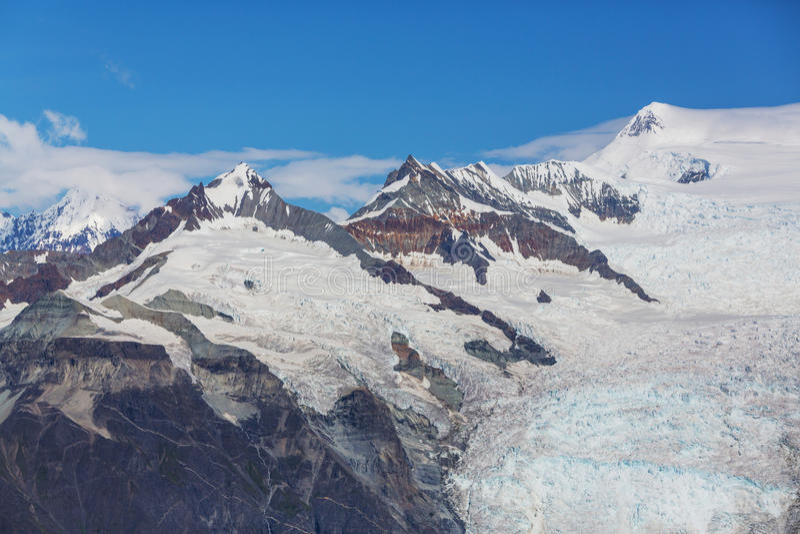 View from Donoho peak. Alaska stock photography