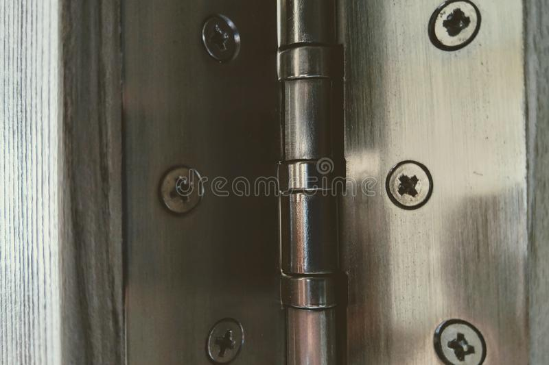 View of the door curtains for interior doors stock photos