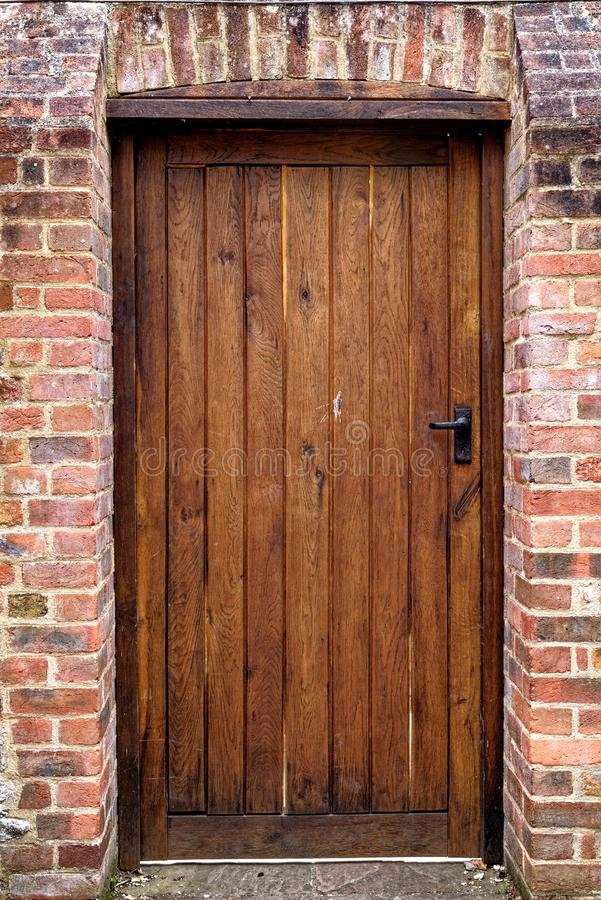 View of door houses - Winchester, UK. View of door houses in old city Winchester - United Kingdom. Photo taken on 6th of May 2019 stock photography