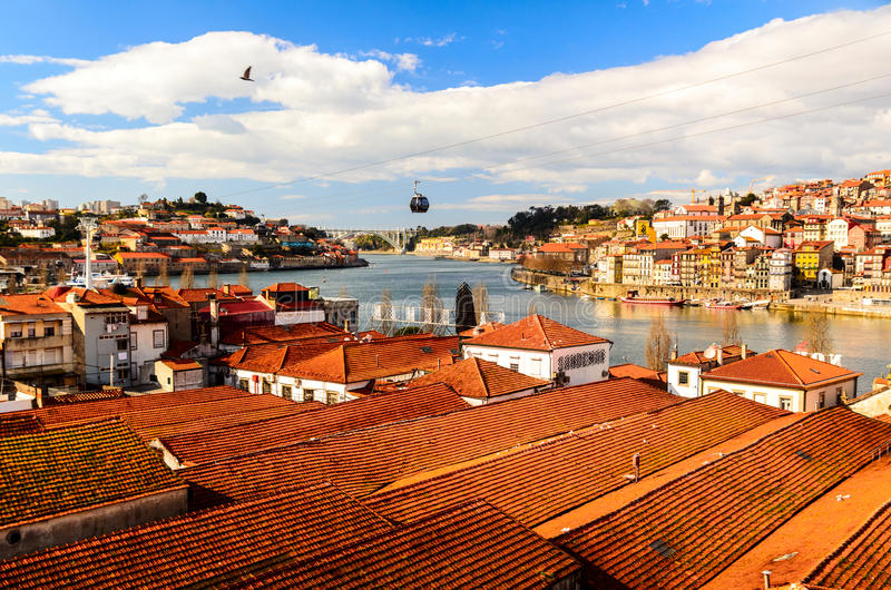 Download View of Douro river stock image. Image of river, building - 28118519