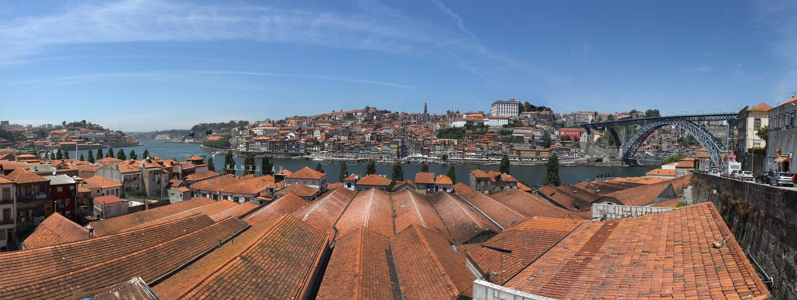 View of Douro river stock image