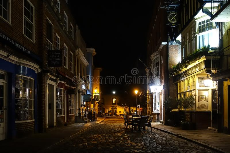 A view down Church Street in Windsor stock photo
