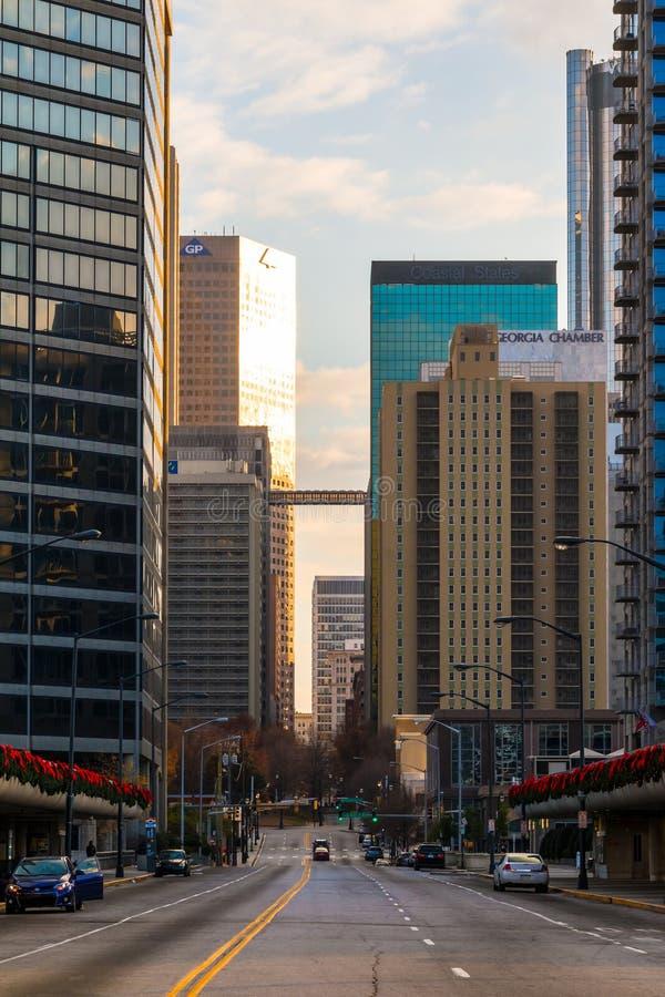 View of Downtown Atlanta, USA royalty free stock photo