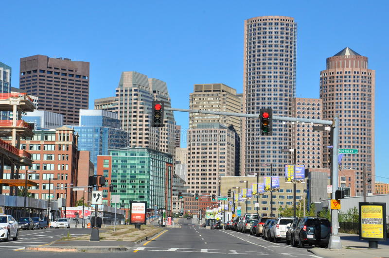 Download View Of Downtown Boston In Massachusetts Editorial Photography - Image of cityscape, modern: 44918432