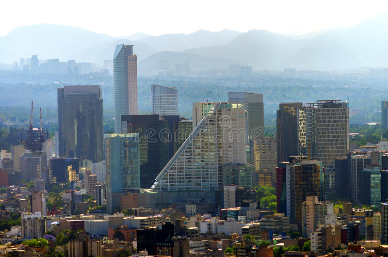 Downtown Mexico City royalty free stock photos
