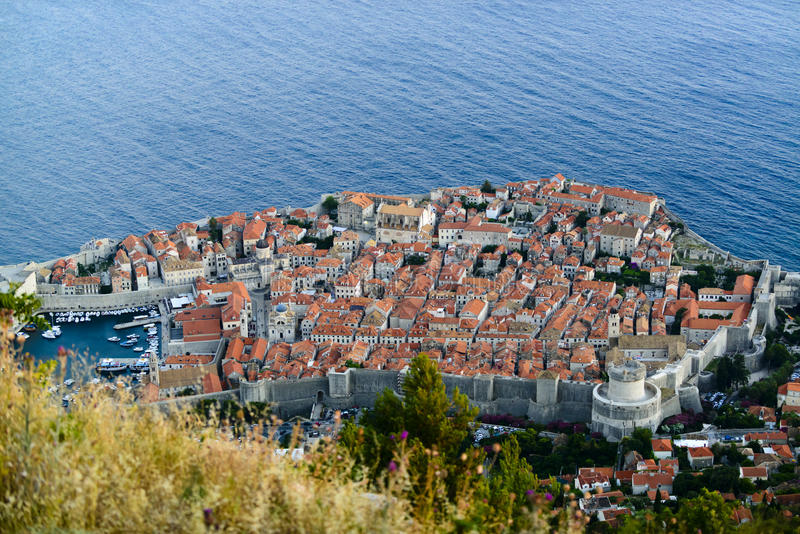 View On Dubrovnik Royalty Free Stock Photos