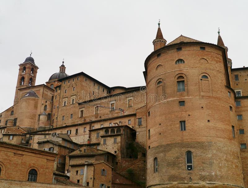 A view of Urbino a historic town in Italy