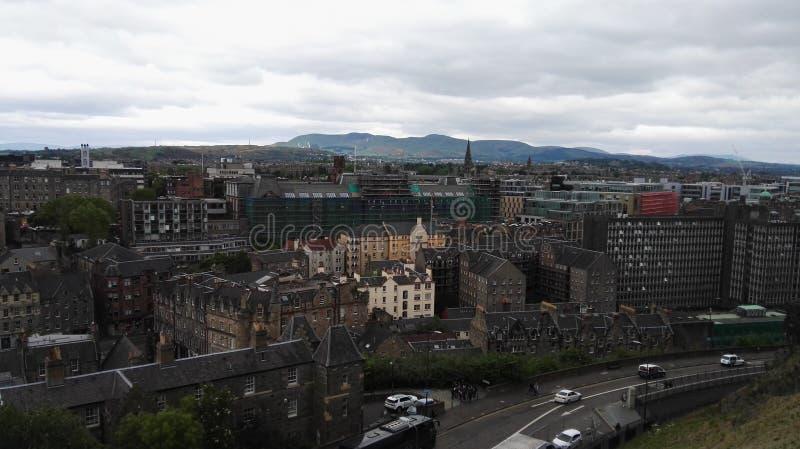 View of Edinburgh royalty free stock photography