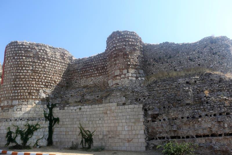 A view of Egirdir Castle, Isparta royalty free stock photos