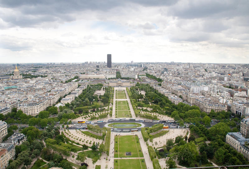 Download View from Eiffel Tower stock image. Image of tourism - 22919389