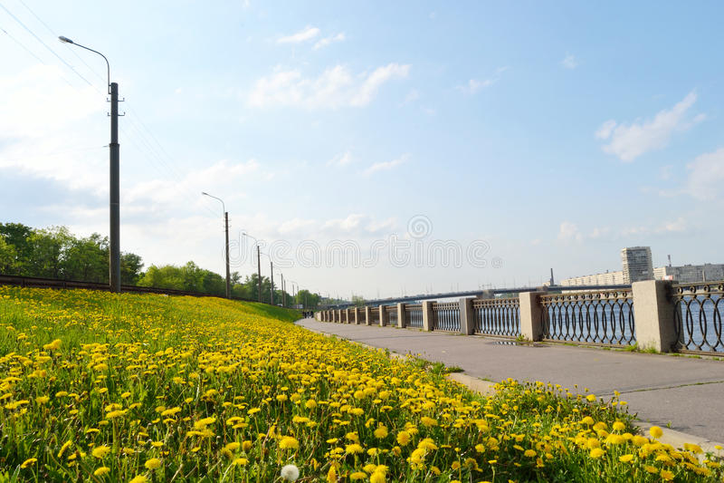 View Of Embankment Neva River Royalty Free Stock Image