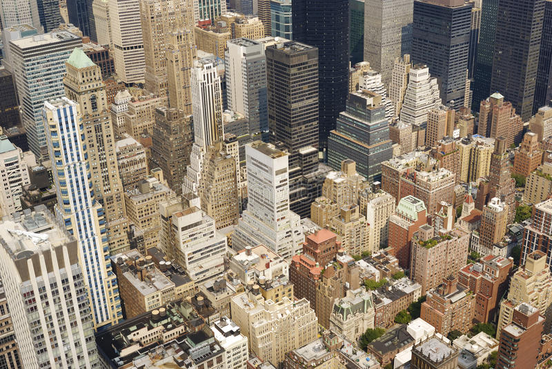 Download View From The Empire State Building Stock Image - Image: 27548649