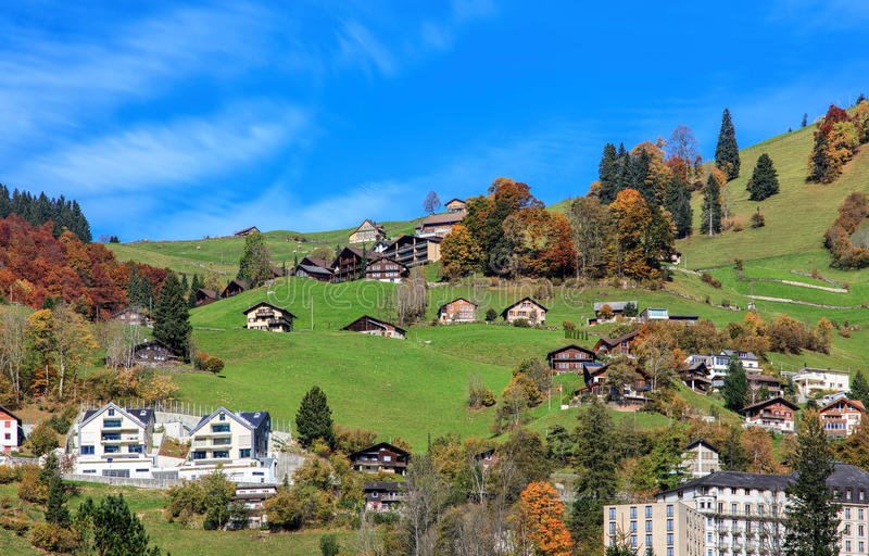 View In Engelberg Switzerland Stock Photo Image of countryside