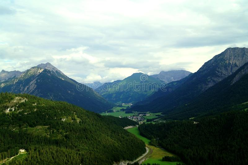 View from Erhenbergh royalty free stock photography