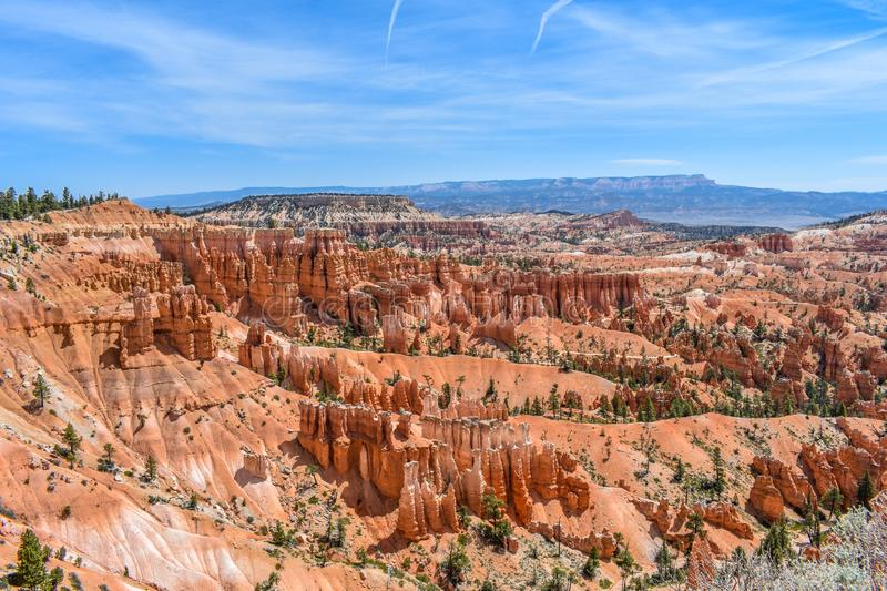 Bryce Canyon Park Rock Formations stock photography