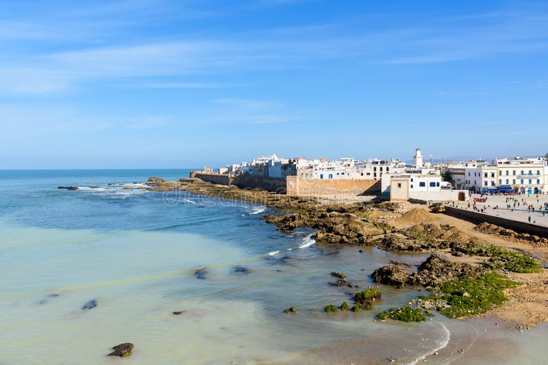 Essaouira old city. Morocco. View of Essaouira old city. Morocco royalty free stock image