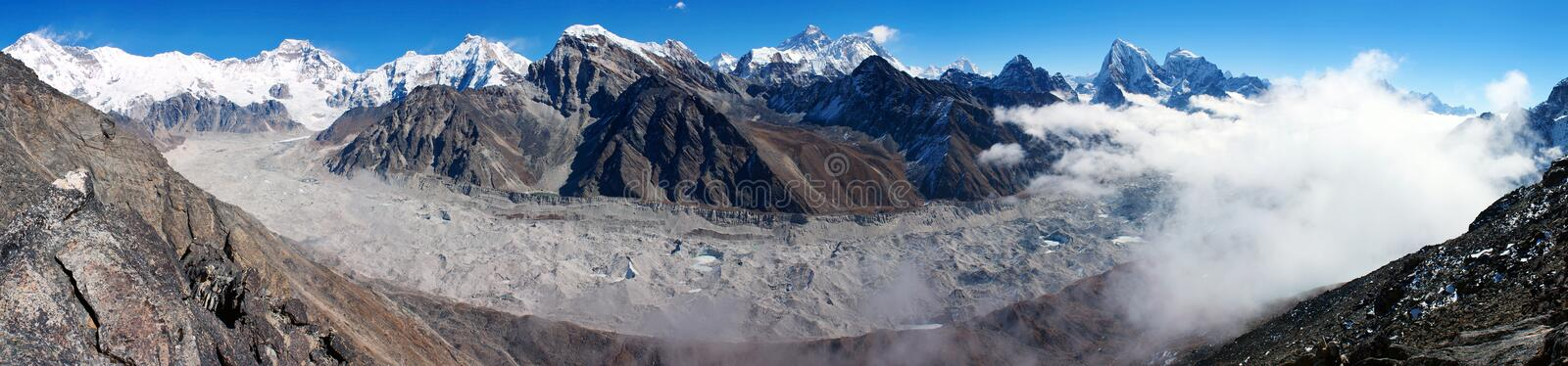 Download View Of Everest From Gokyo Ri Royalty Free Stock Image - Image: 22305946