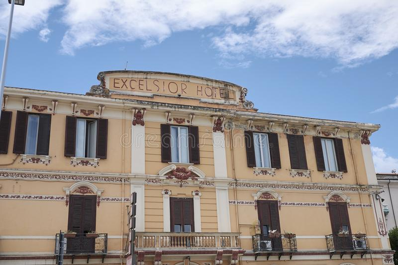View of Excelsior Hotel stock photography