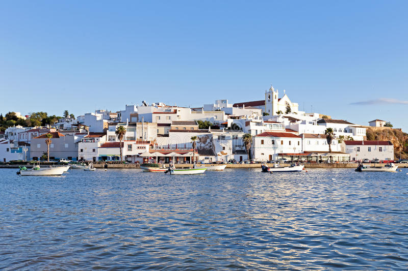 Download View On Ferragudo In Portugal Stock Photo - Image: 35579846