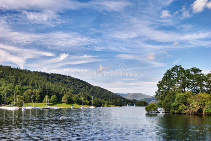 View from the Ferry House, Windermere royalty free stock photos